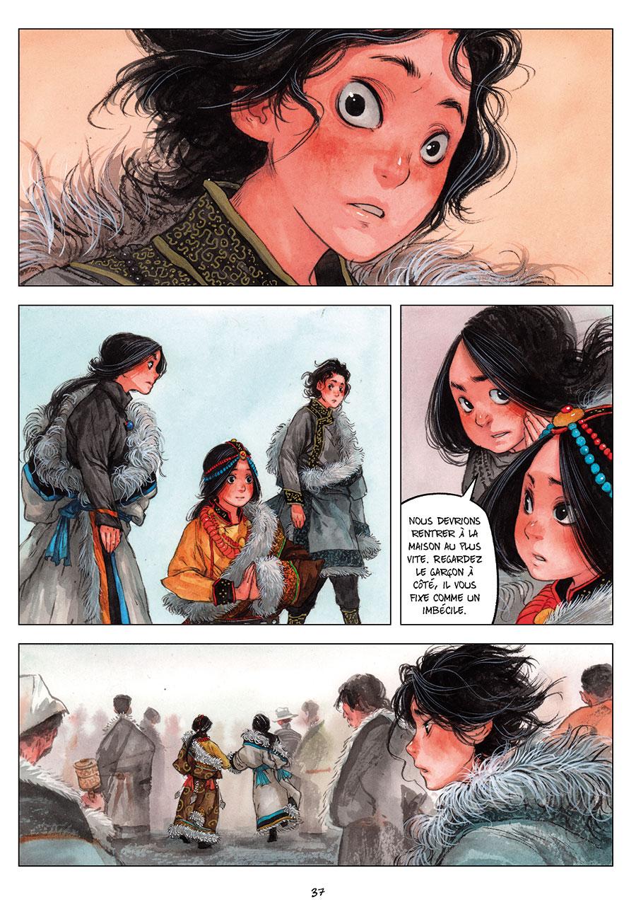 Extrait n°5 de la bd tome 2 par Chao Fan (Riz sauté)