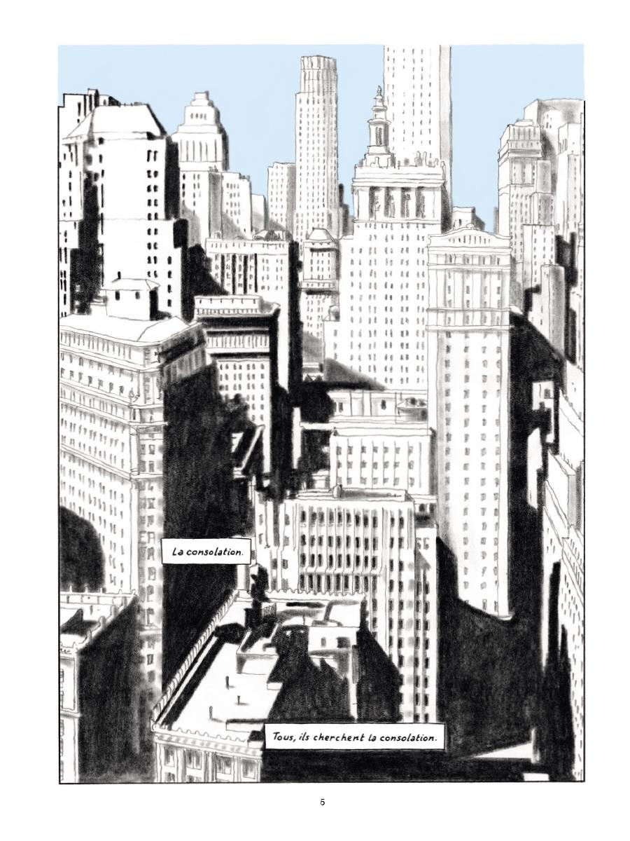 Extrait n°1 de la bd Gramercy Park par Christian Cailleaux