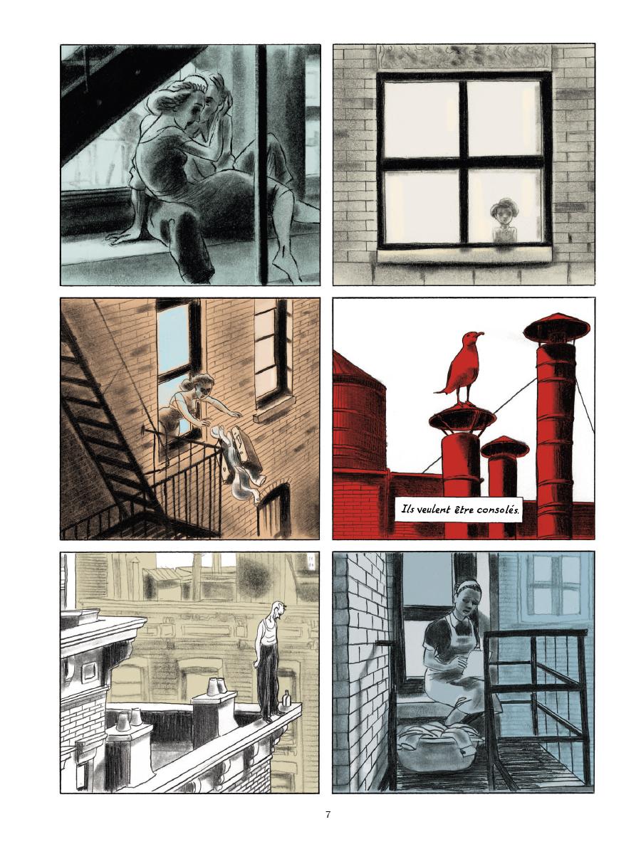Extrait n°3 de la bd Gramercy Park par Christian Cailleaux