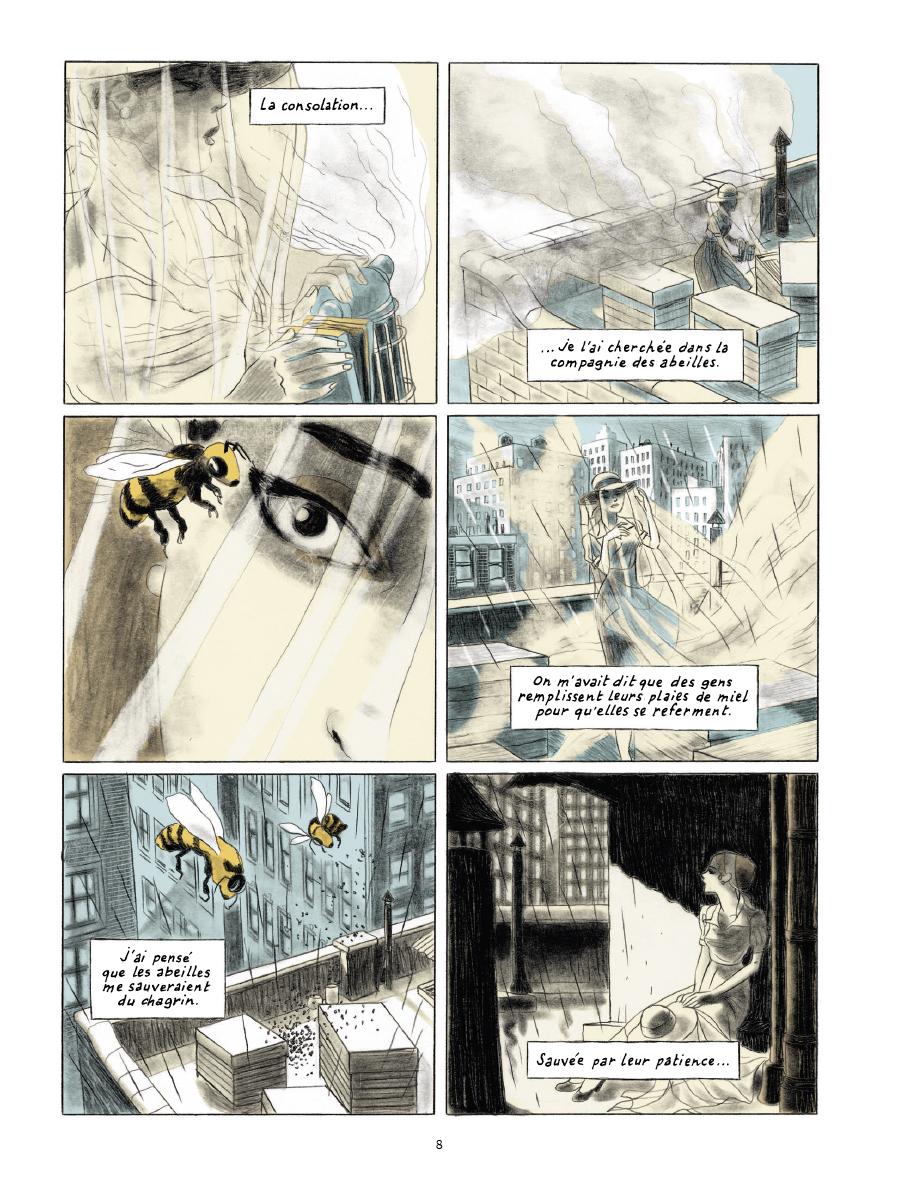 Extrait n°4 de la bd Gramercy Park par Christian Cailleaux
