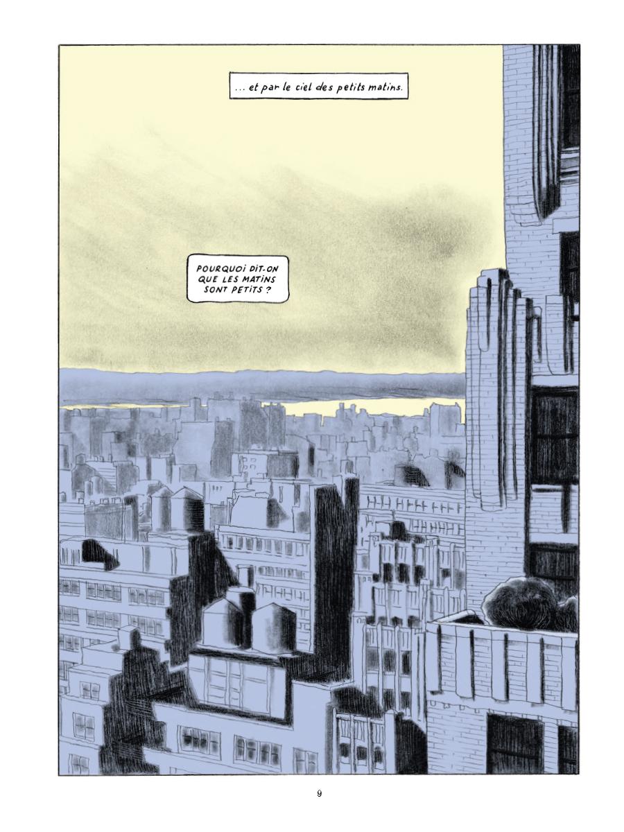 Extrait n°5 de la bd Gramercy Park par Christian Cailleaux