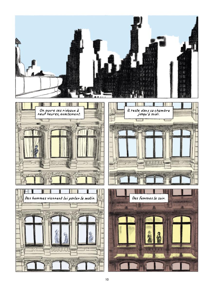 Extrait n°6 de la bd Gramercy Park par Christian Cailleaux