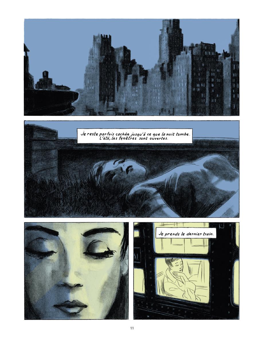 Extrait n°7 de la bd Gramercy Park par Christian Cailleaux
