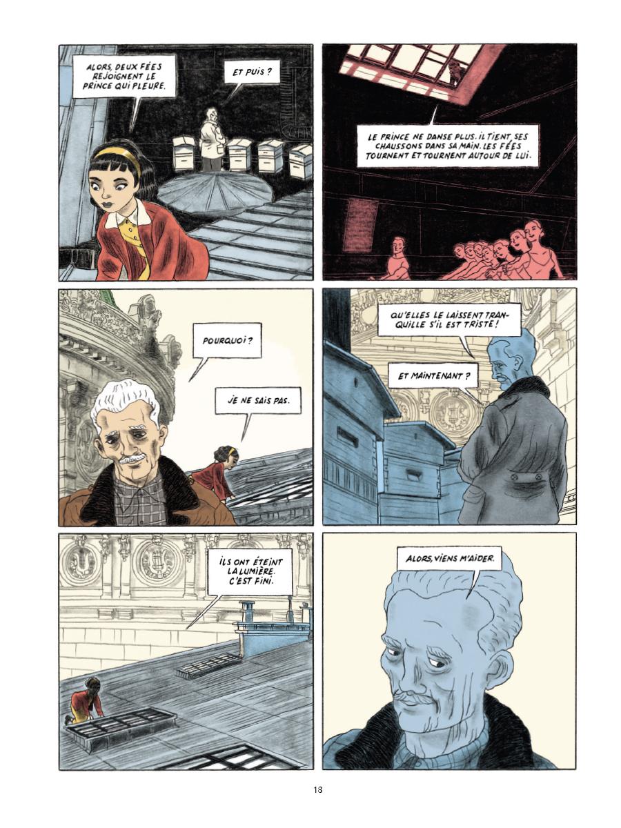 Extrait n°9 de la bd Gramercy Park par Christian Cailleaux