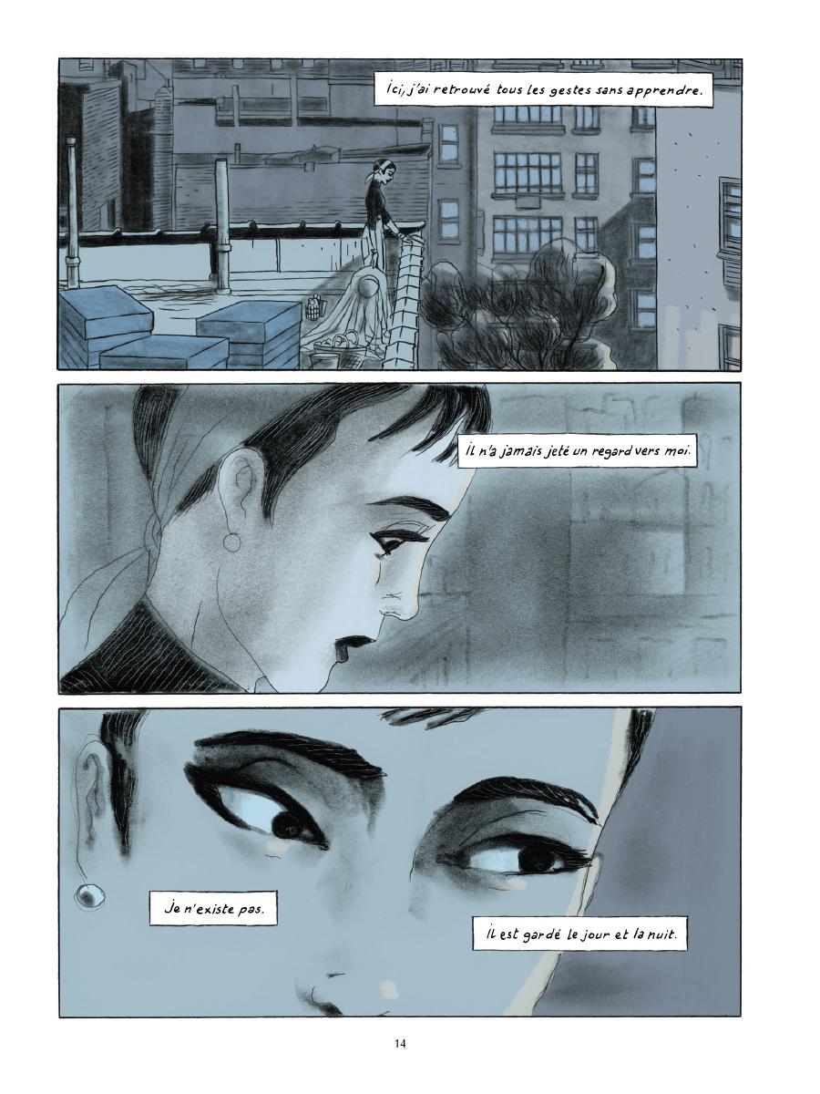Extrait n°10 de la bd Gramercy Park par Christian Cailleaux