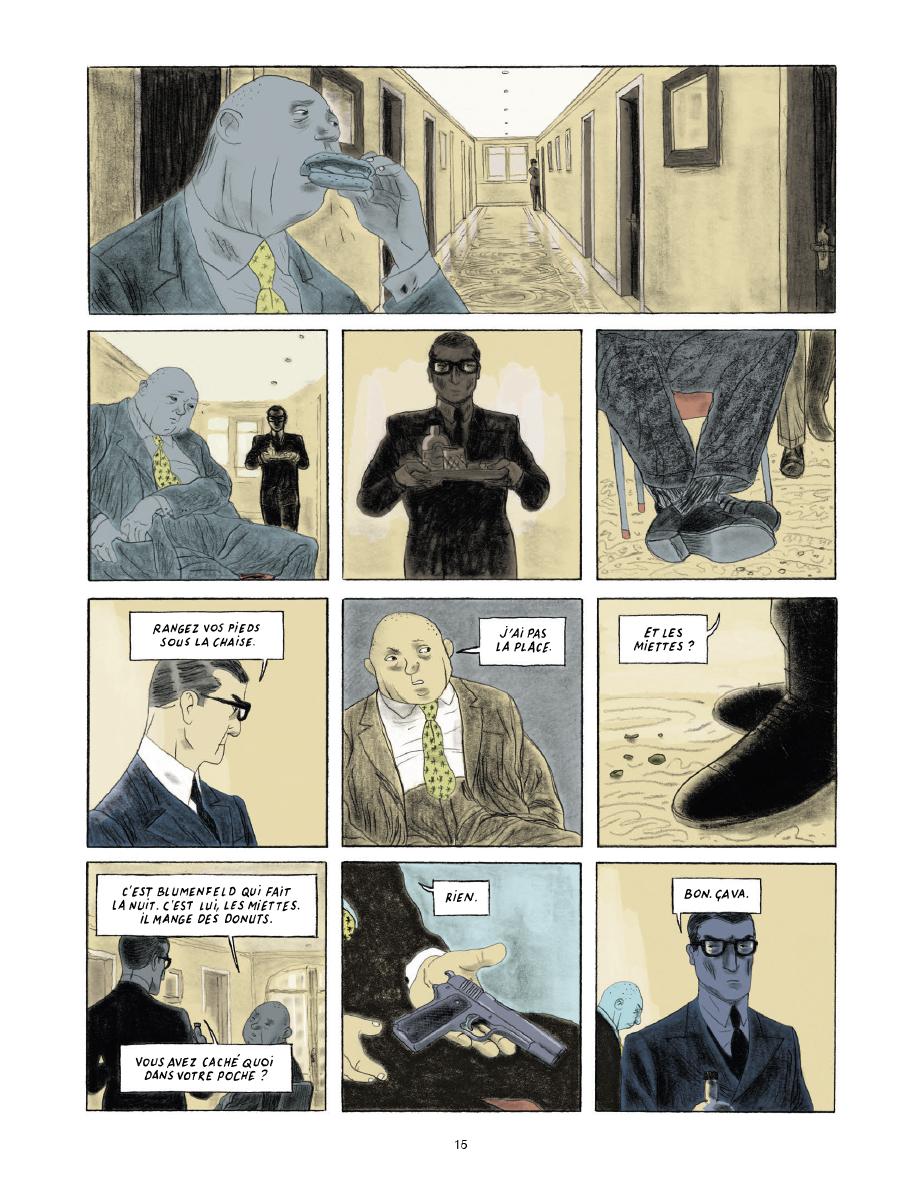 Extrait n°11 de la bd Gramercy Park par Christian Cailleaux
