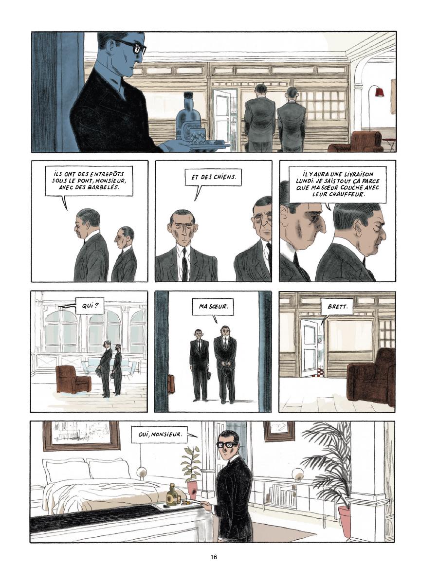 Extrait n°12 de la bd Gramercy Park par Christian Cailleaux