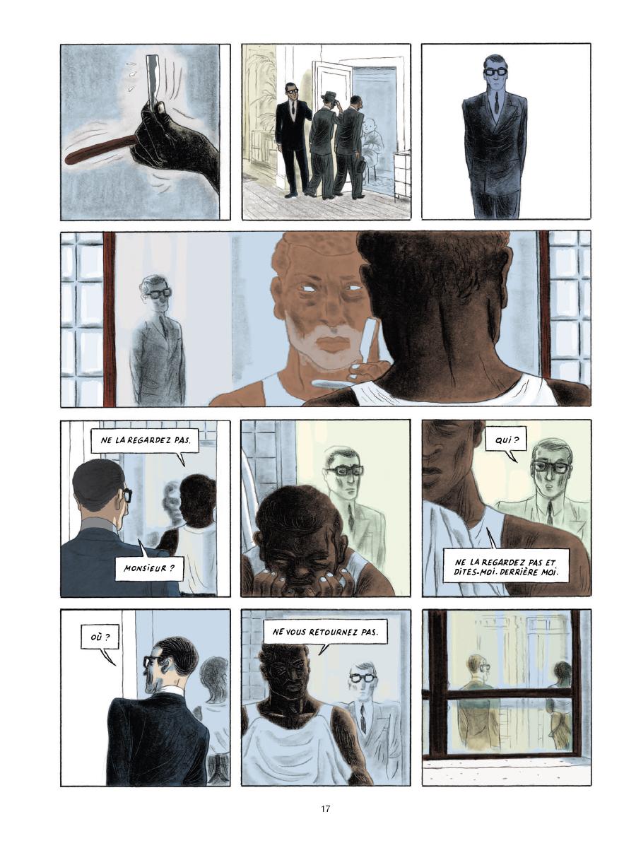 Extrait n°13 de la bd Gramercy Park par Christian Cailleaux