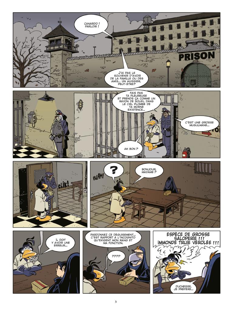 Extrait n°1 de la bd tome 25 par Benoît Sokal
