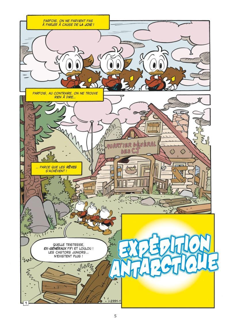 Extrait n°1 de la bd tome 1 par Collectif Disney