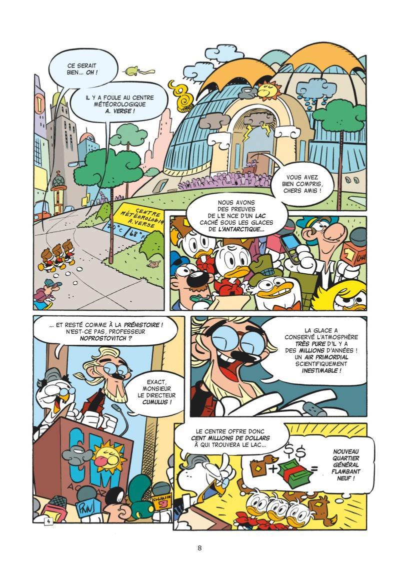 Extrait n°3 de la bd tome 1 par Collectif Disney