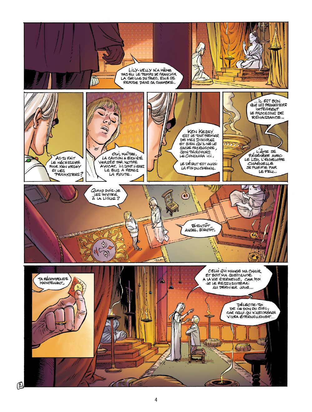 Extrait n°2 de la bd tome 2 par Olivier Mangin