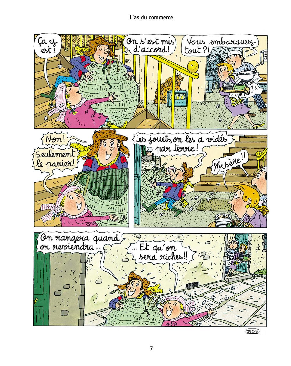 Extrait n°3 de la bd tome 7 par Bernadette Després