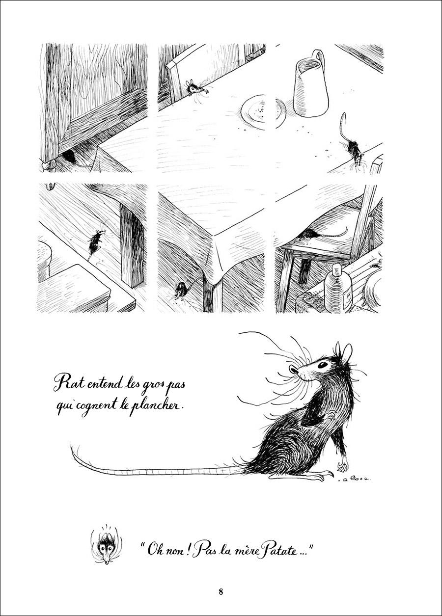Extrait n°4 Rat et les animaux moches par Poipoi
