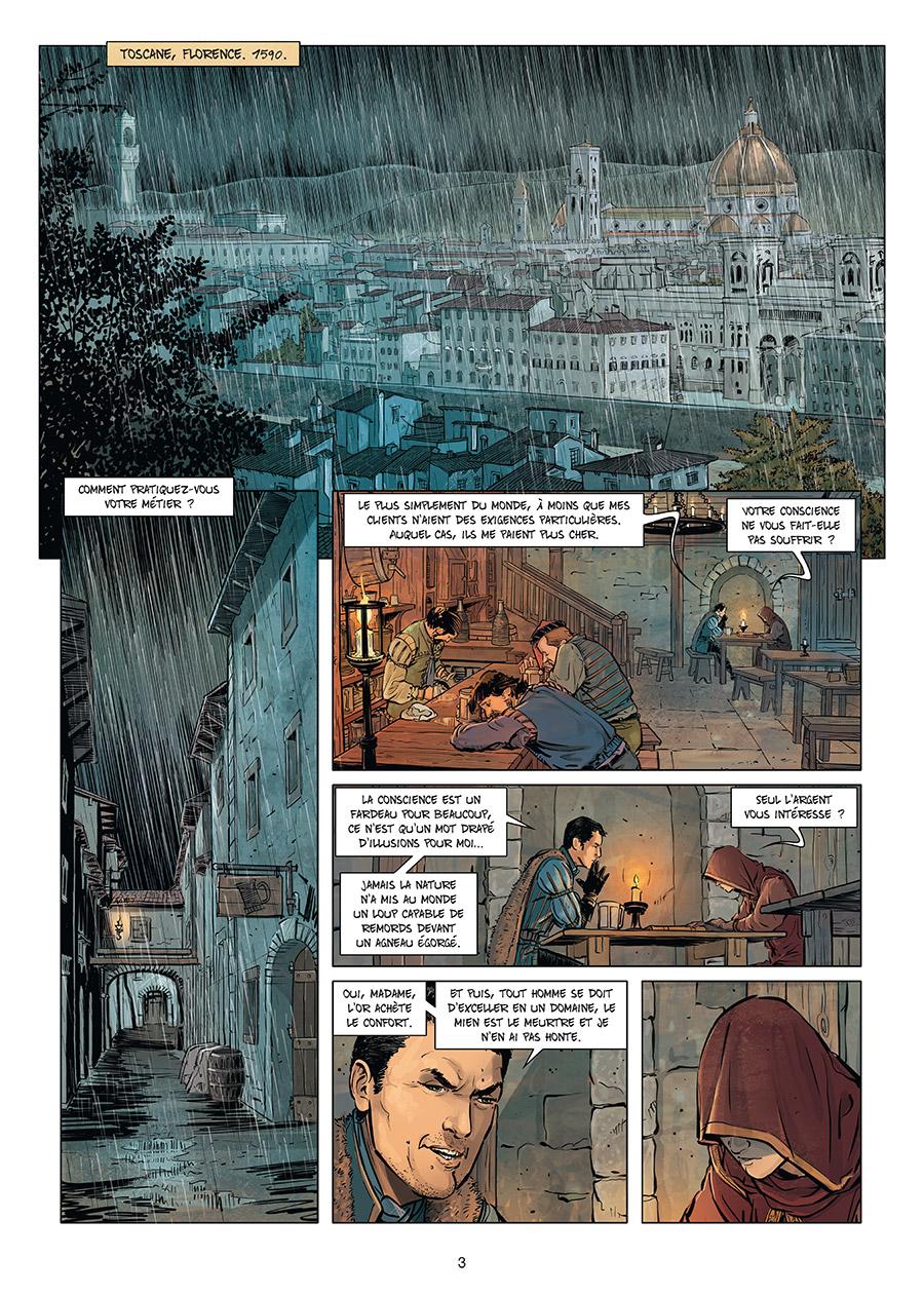 Extrait n°1 de la bd tome 5 par Élodie Jacquemoire