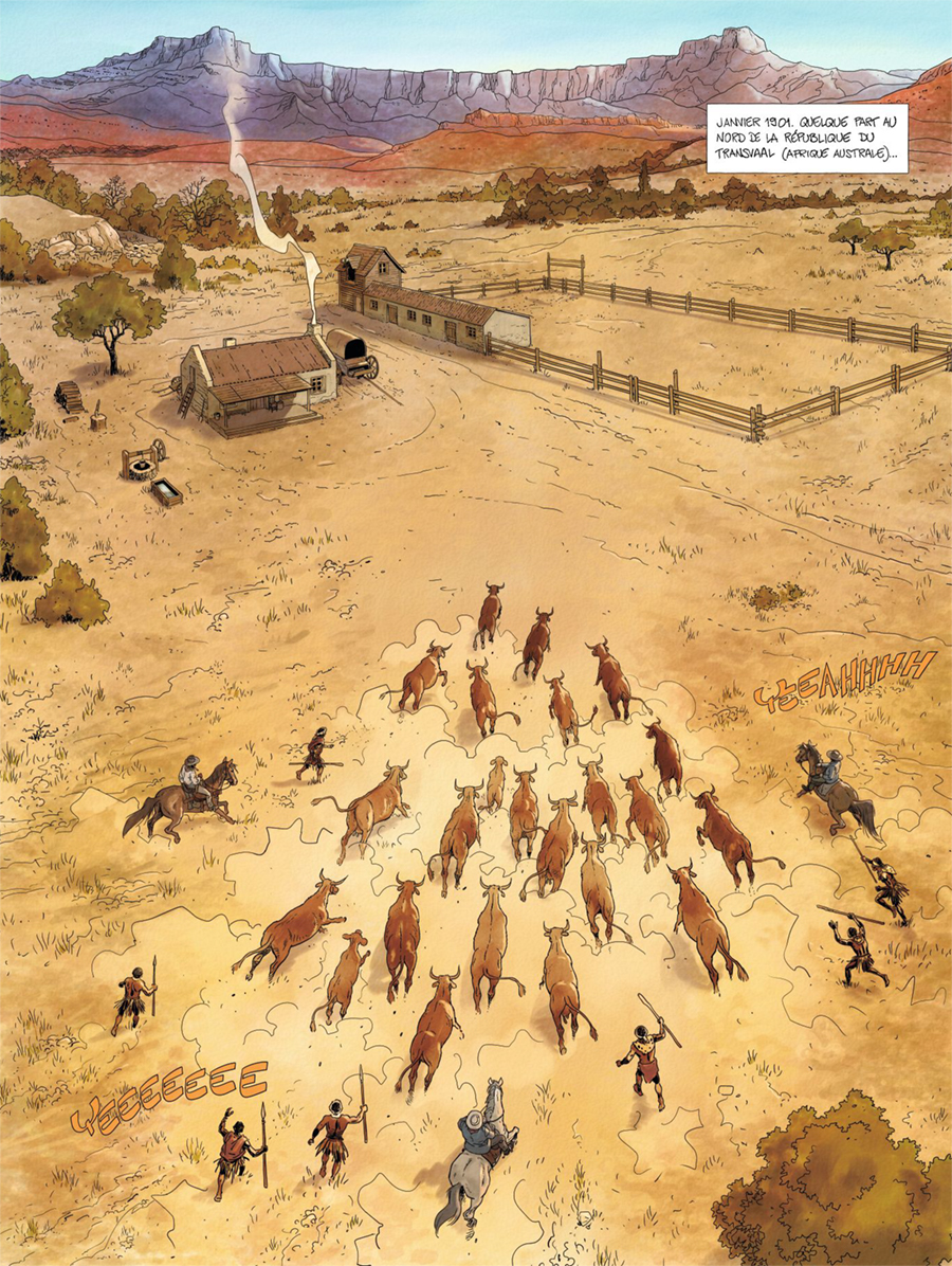 Les Aventuriers du Transvaal - T.1 L'Or de Kruger