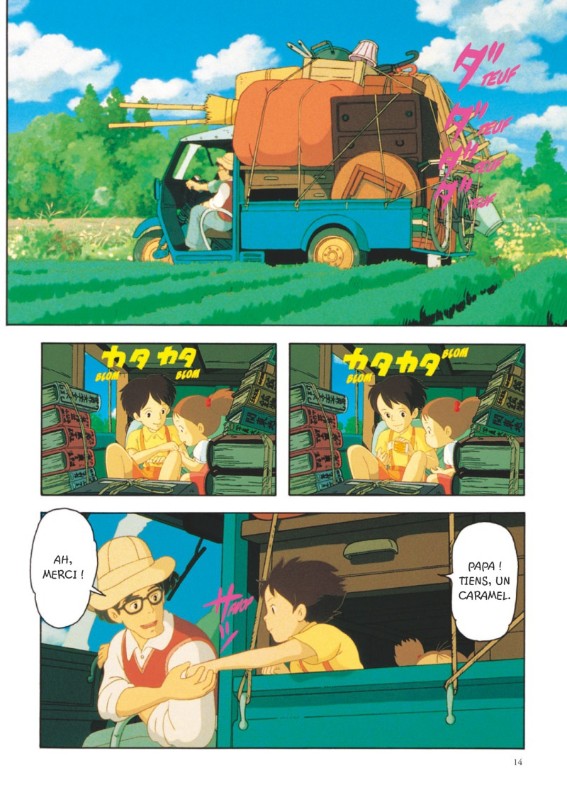 Extrait n°2 du manga par Hayao Miyazaki