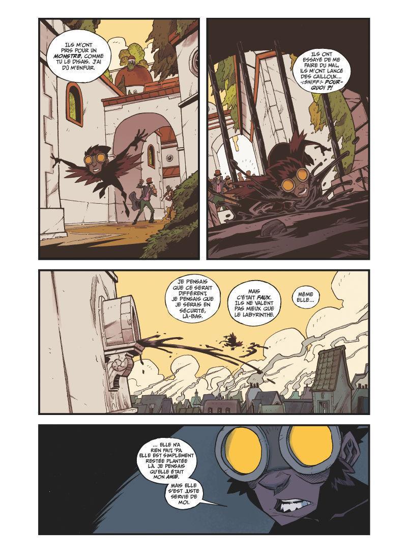Extrait n°2 de la bd tome 3 par Jorge Corona