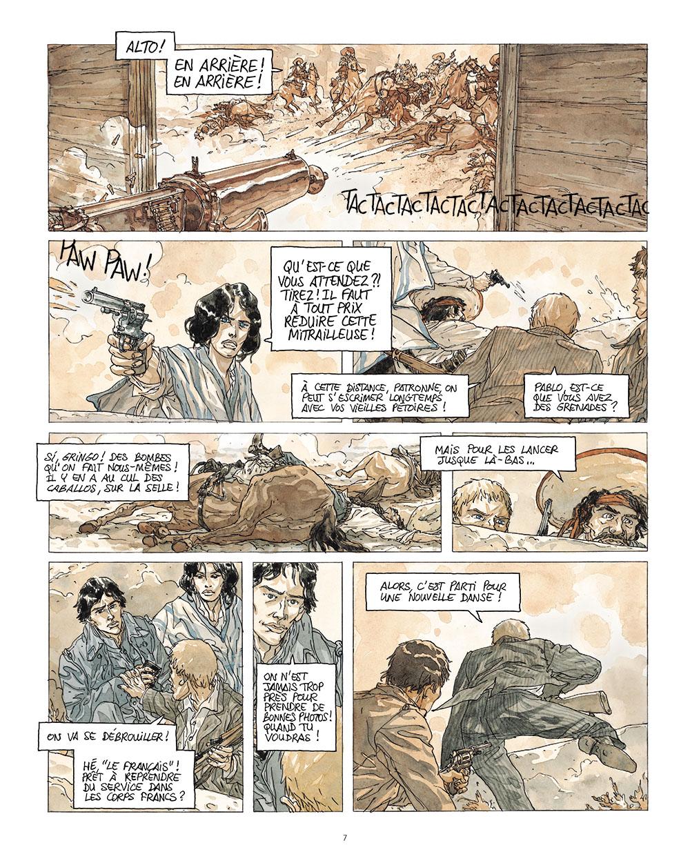 Extrait n°5 de la bd tome 2 par Kris