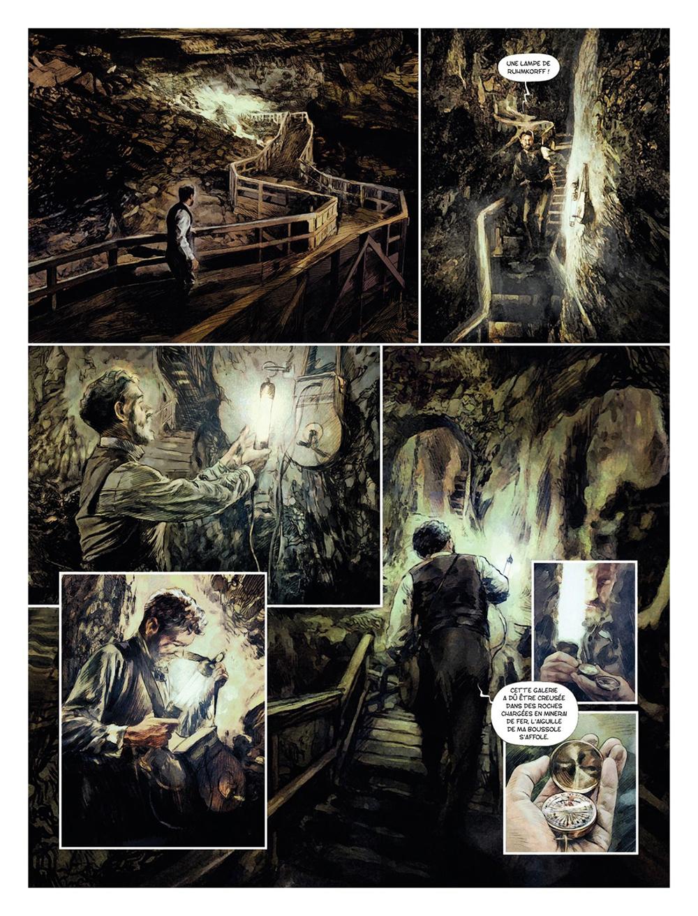 Extrait n°1 de la bd tome 2 par Carlos Puerta