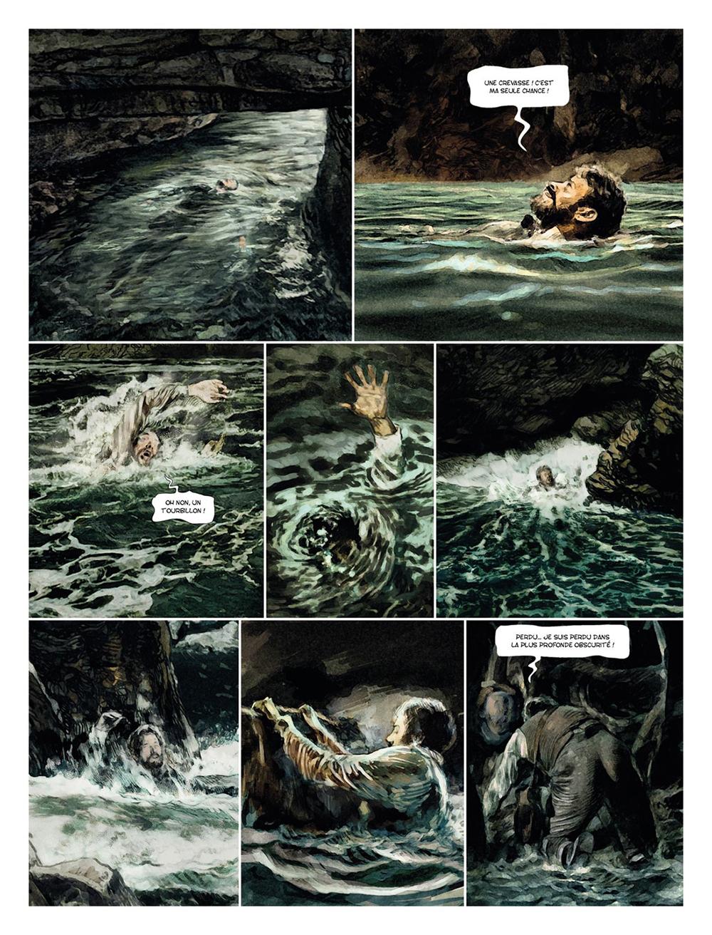 Extrait n°3 de la bd tome 2 par Carlos Puerta