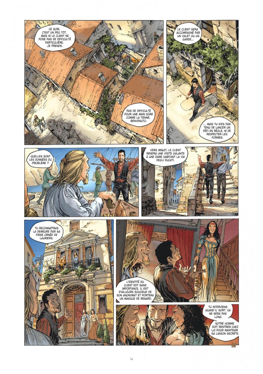 Extrait n°10 tome 1 par Frédéric Genêt