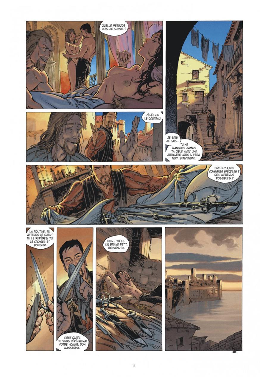 Extrait n°11 tome 1 par Frédéric Genêt