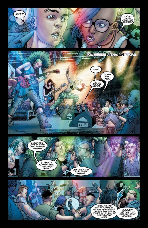 Extrait n°4 du comics Génération Zéro par Fred Van Lente