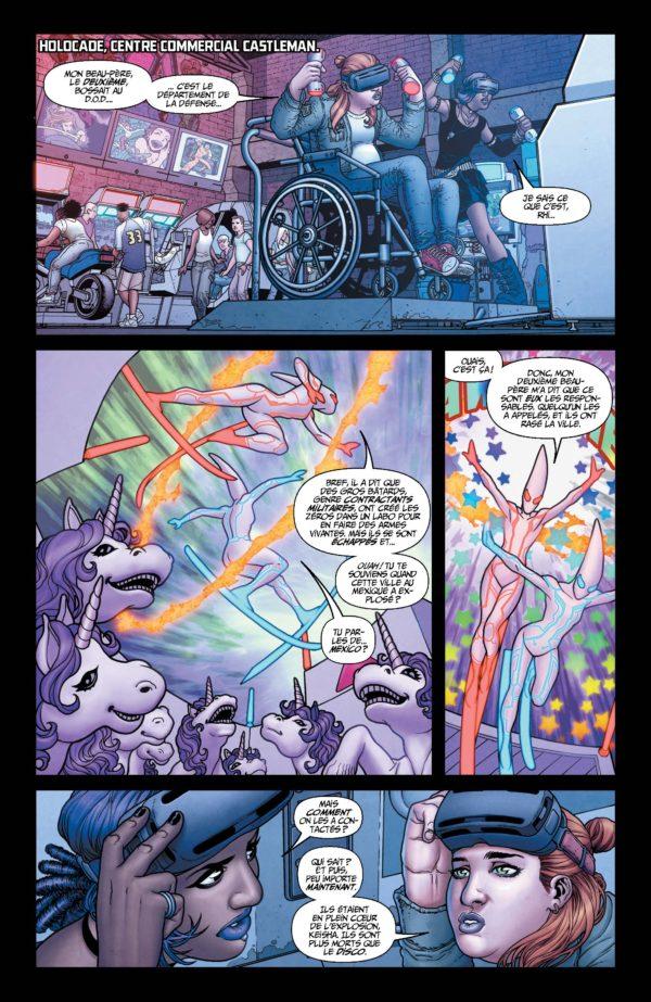 Extrait n°5 du comics Génération Zéro par Fred Van Lente