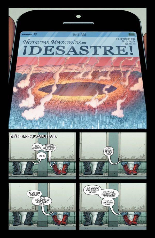 Extrait n°6 du comics Génération Zéro par Fred Van Lente