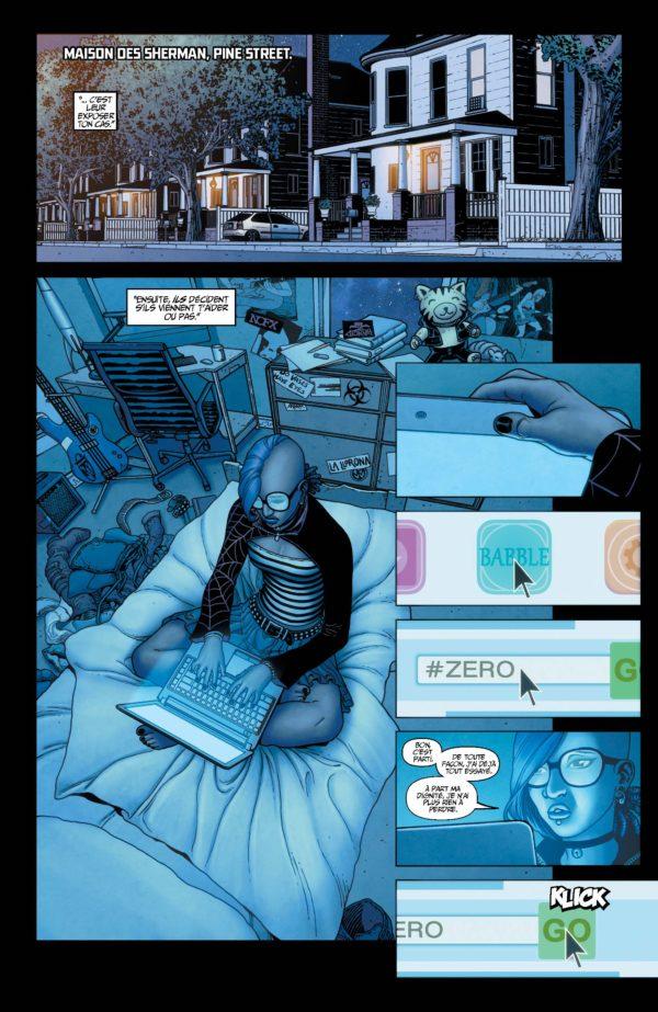 Extrait n°7 du comics Génération Zéro par Fred Van Lente