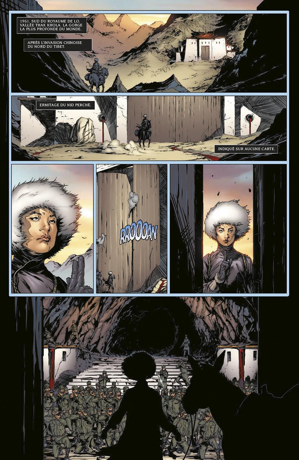 Extrait n°1 du comics Harbinger L'Intégrale par Rafa Sandoval