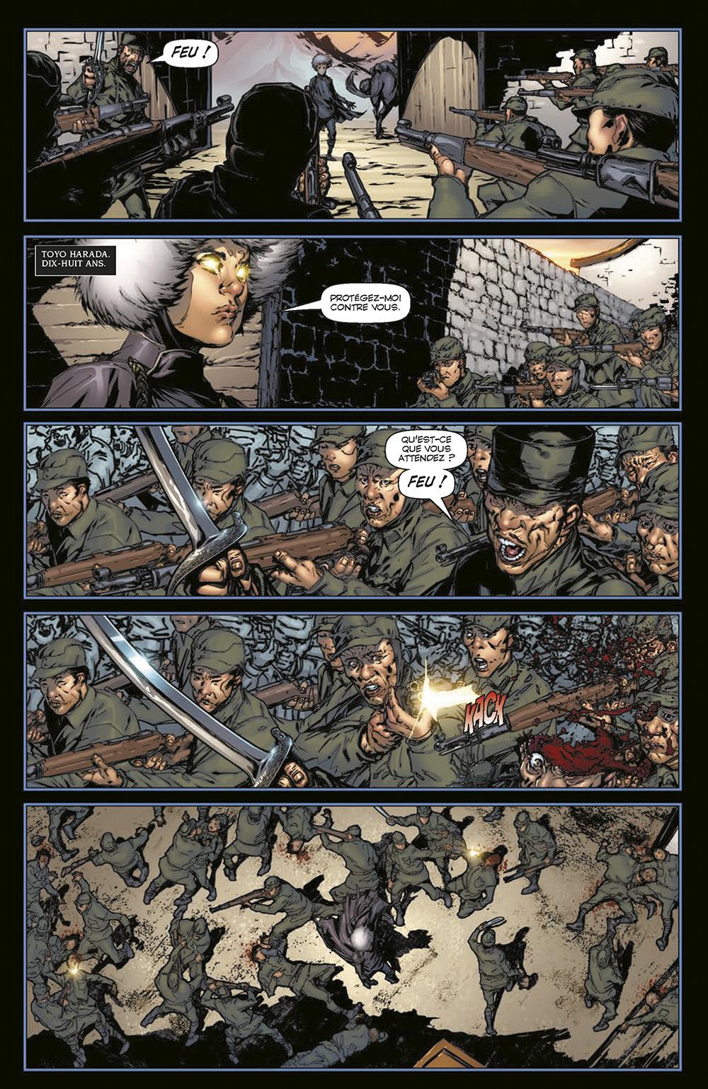 Extrait n°2 du comics Harbinger L'Intégrale par Rafa Sandoval