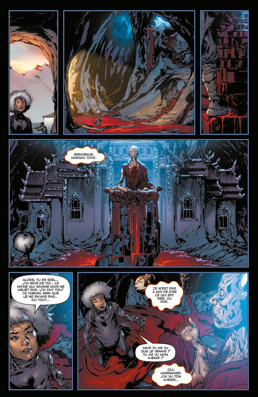 Extrait n°3 du comics Harbinger L'Intégrale par Rafa Sandoval