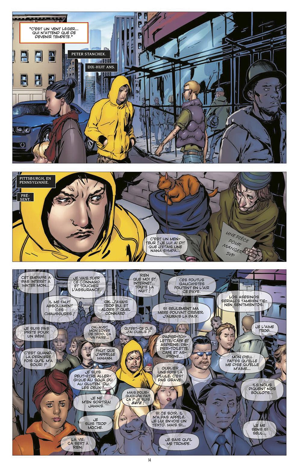 Extrait n°4 du comics Harbinger L'Intégrale par Rafa Sandoval