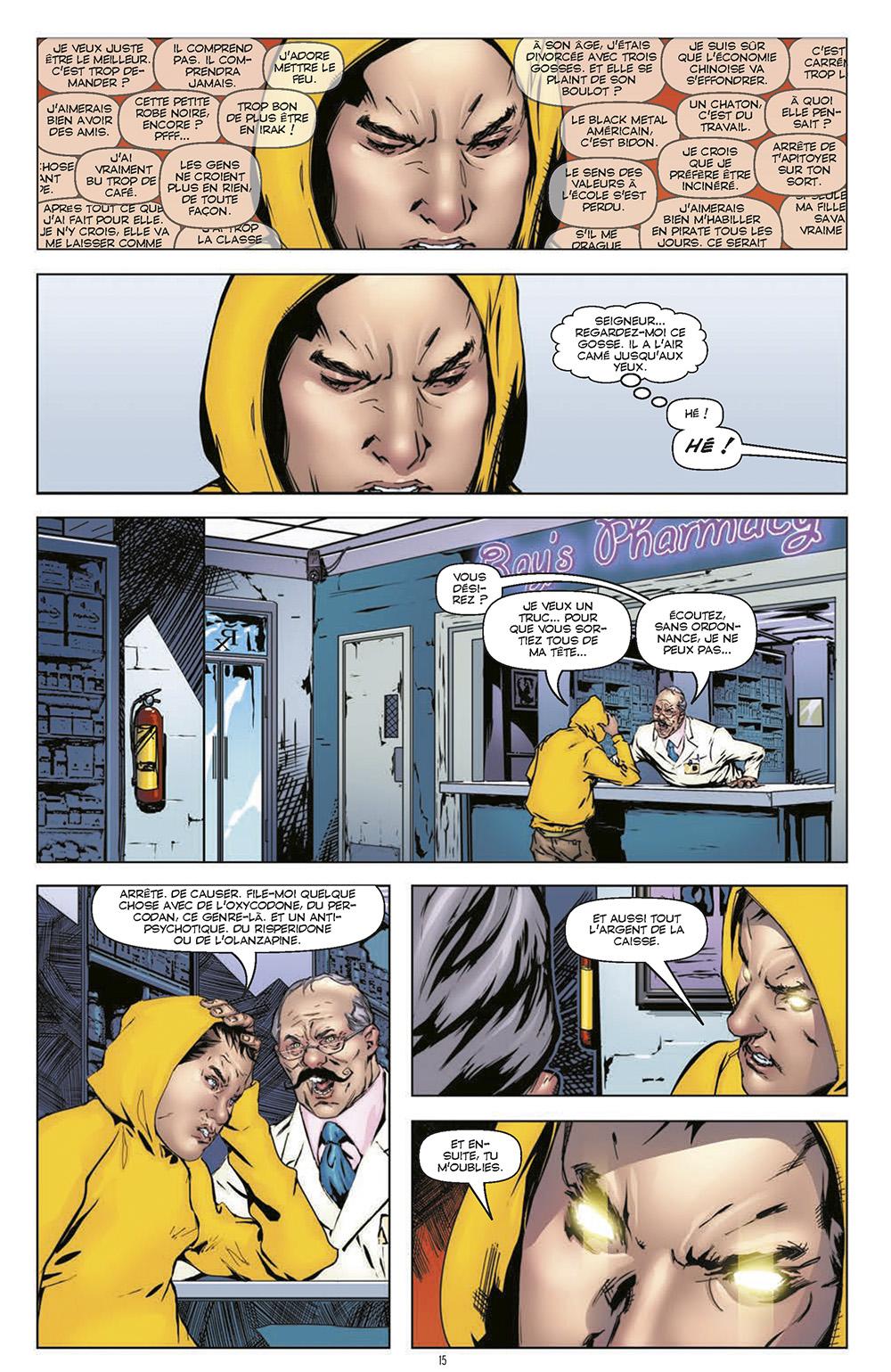 Extrait n°5 du comics Harbinger L'Intégrale par Rafa Sandoval