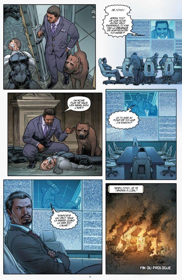 Extrait n°9 du comics tome 1 par Darick Robertson