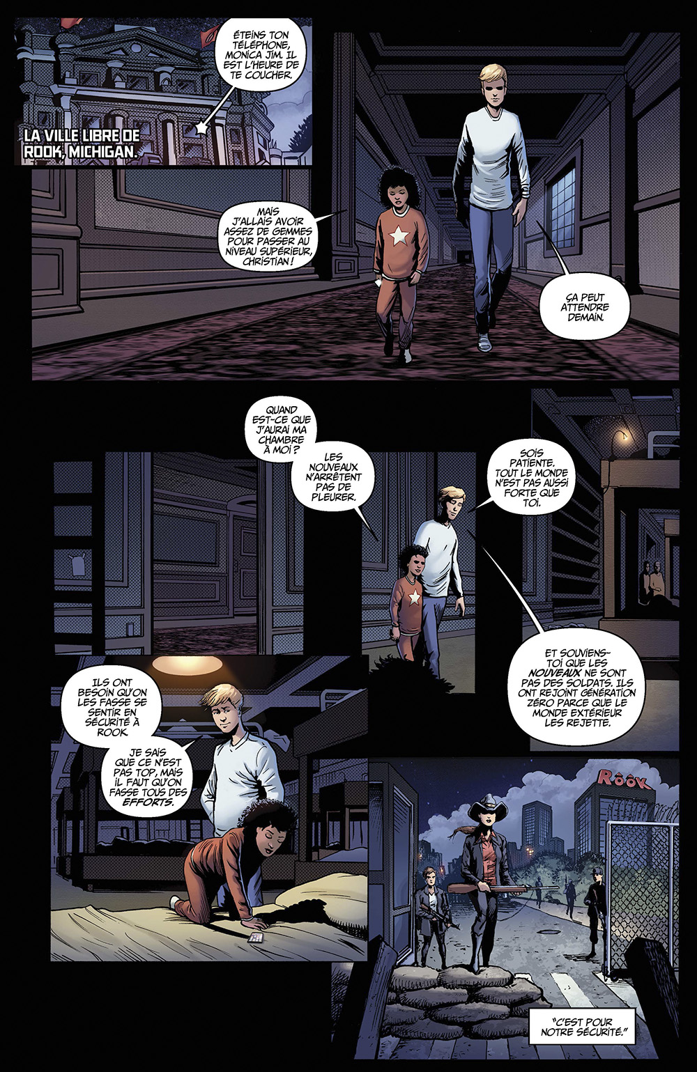 Extrait n°4 du comics tome 2 par Darick Robertson
