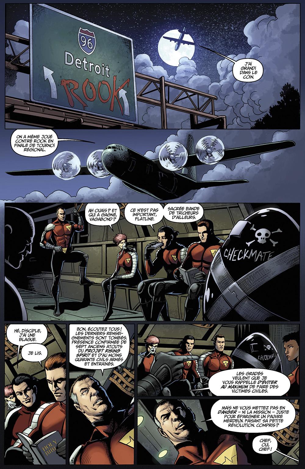 Extrait n°5 du comics tome 2 par Darick Robertson