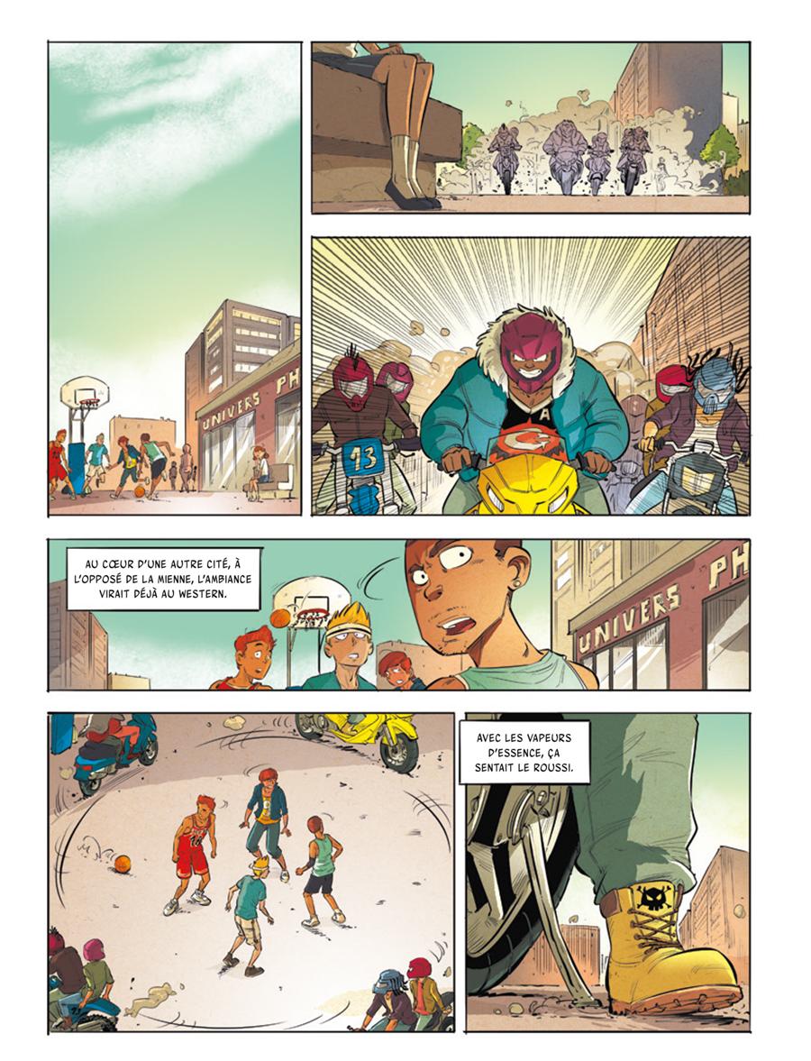 Extrait n°2 de la bd tome 3 par Greg Blondin