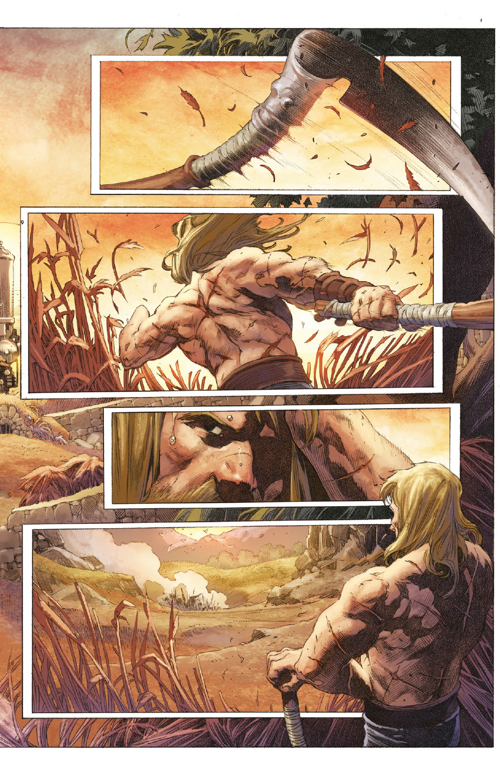 Extrait n°2 du comics tome 1 par Matt Kindt