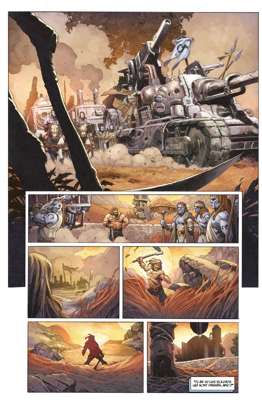 Extrait n°3 du comics tome 1 par Matt Kindt