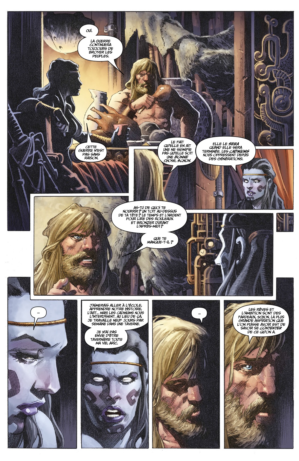 Extrait n°4 du comics tome 1 par Matt Kindt