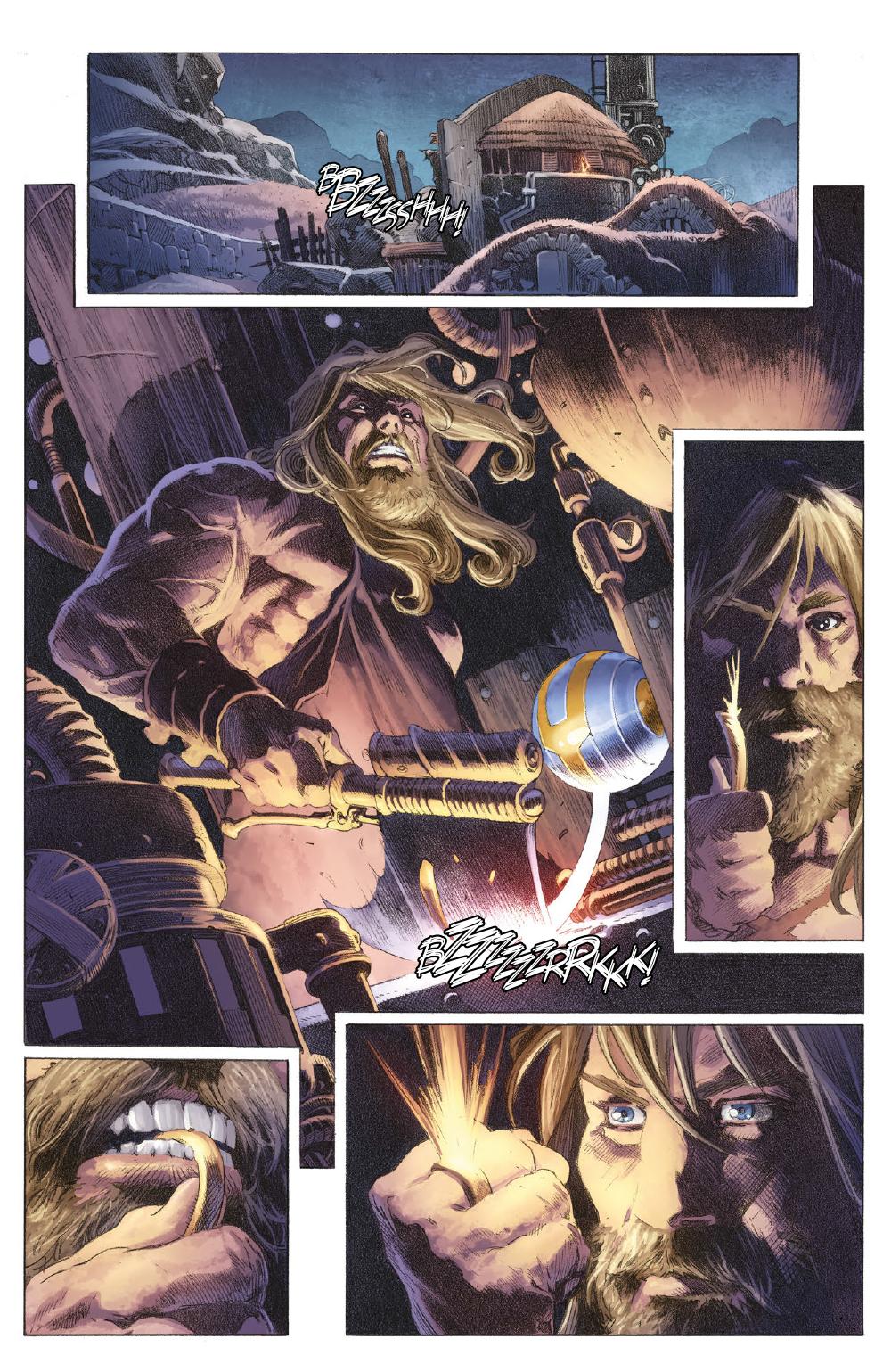 Extrait n°8 du comics tome 1 par Matt Kindt