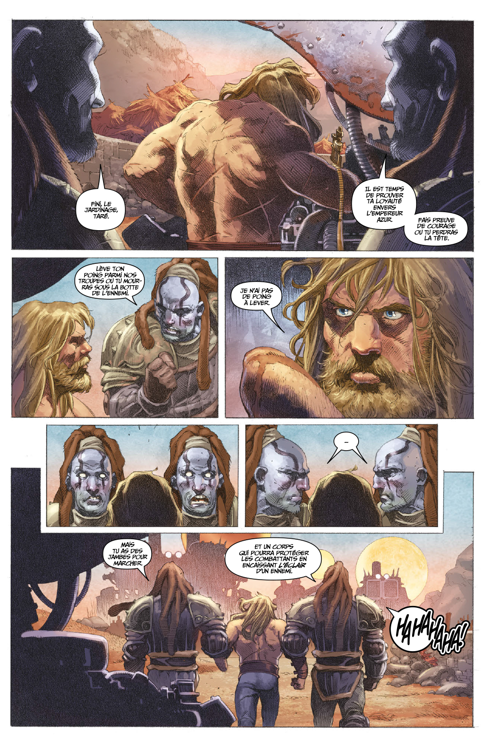 Extrait n°11 du comics tome 1 par Matt Kindt