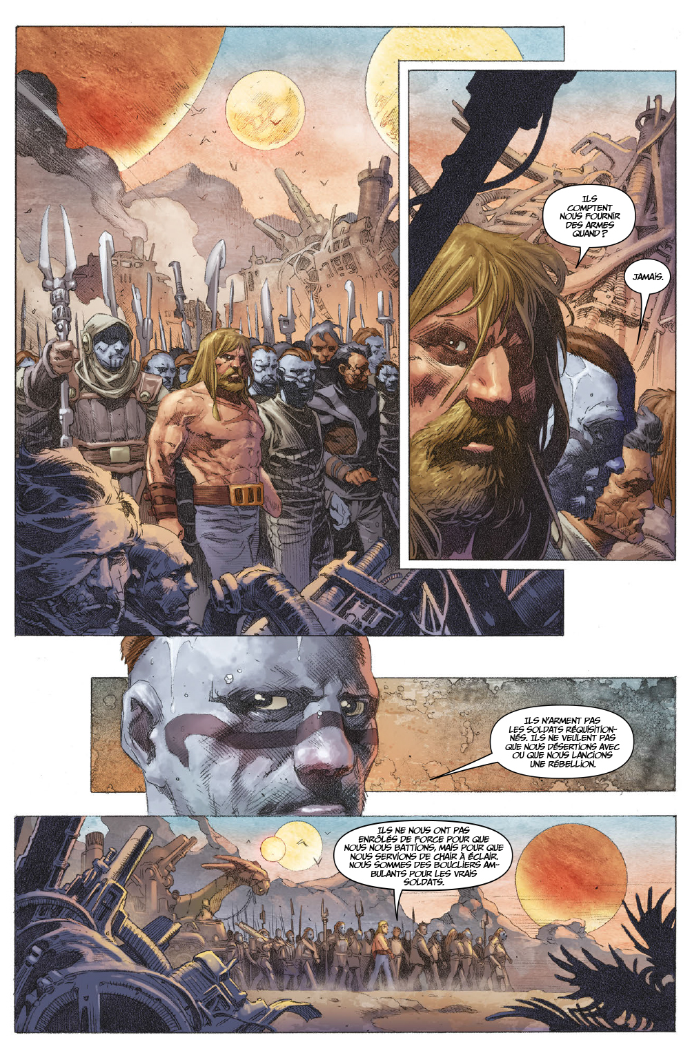 Extrait n°13 du comics tome 1 par Matt Kindt