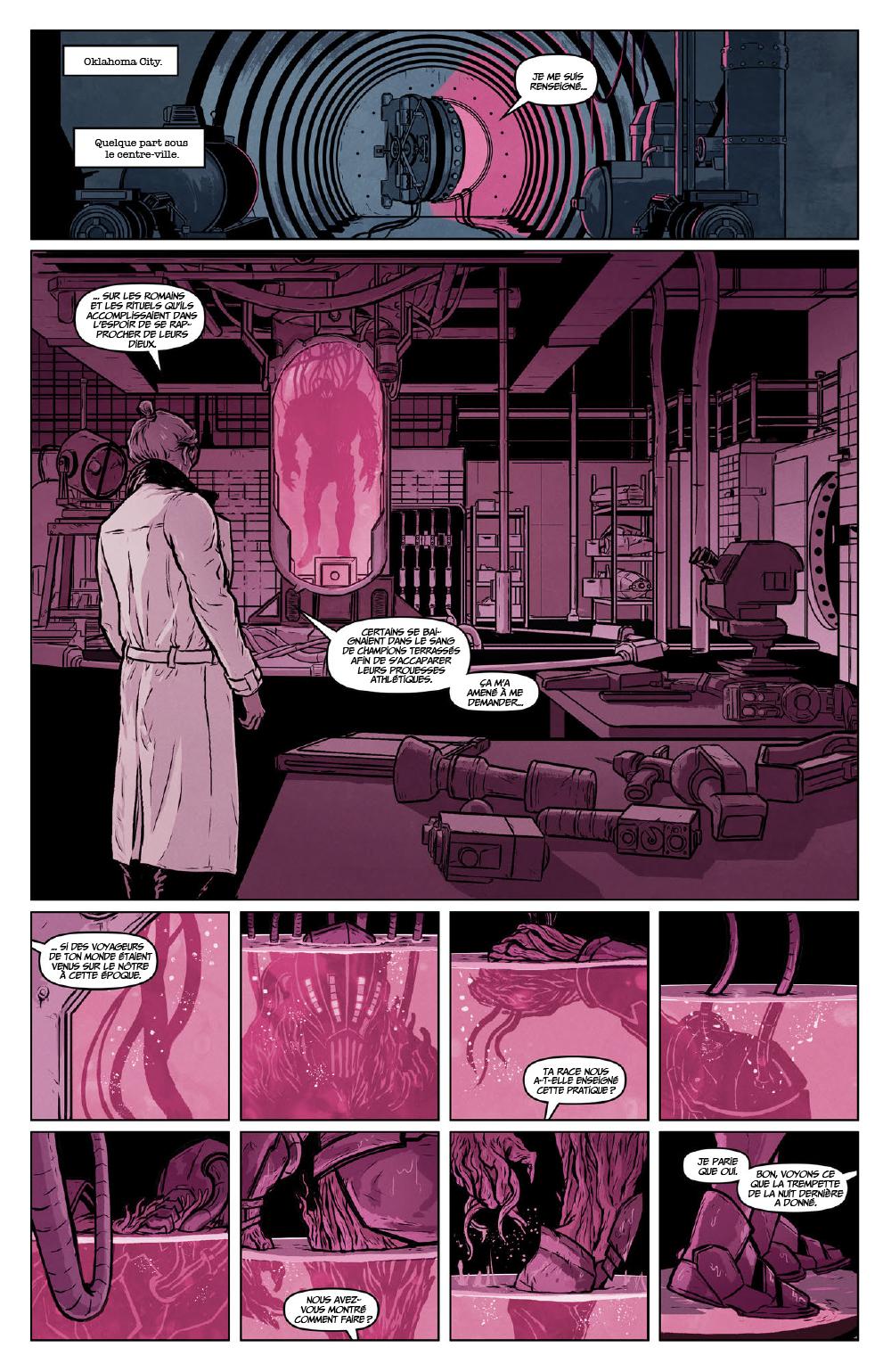 Extrait n°1 du comics Secret Weapons par Raul Allen