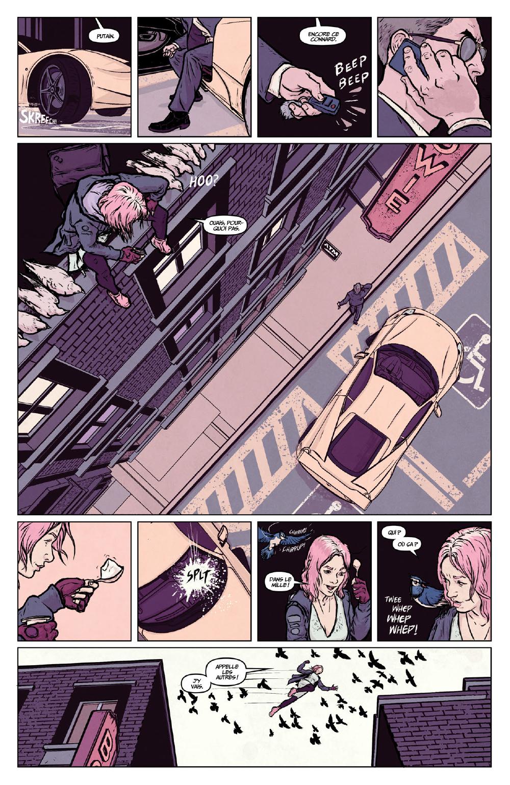 Extrait n°4 du comics Secret Weapons par Raul Allen
