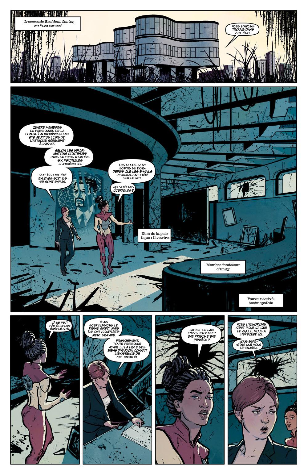 Extrait n°5 du comics Secret Weapons par Raul Allen