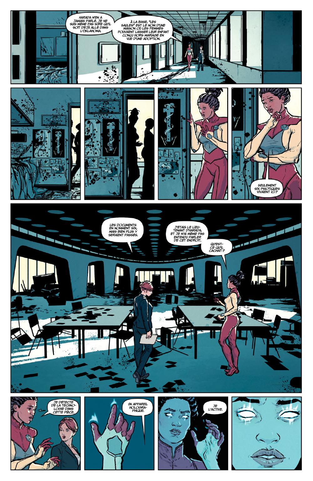 Extrait n°6 du comics Secret Weapons par Raul Allen